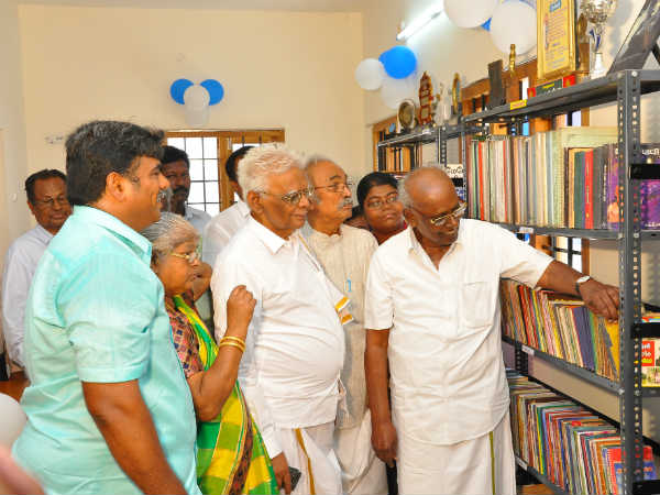New library opening in Ayyapuram, Nellai district
