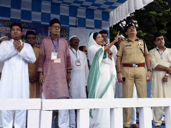 Whoever messes with us will be destroyed: Mamata Banerjee