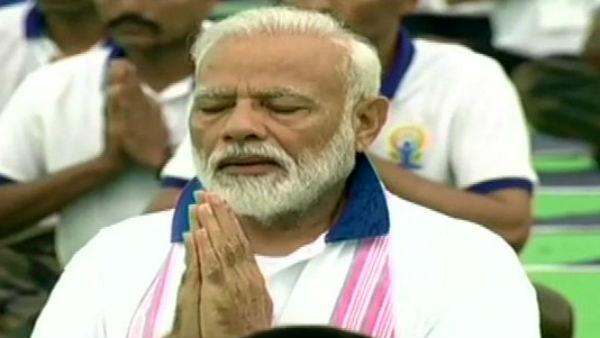 5-வது சர்வதேச யோகா தினம்.. ராஞ்சியில் பிரதமர் மோடி பங்கேற்பு