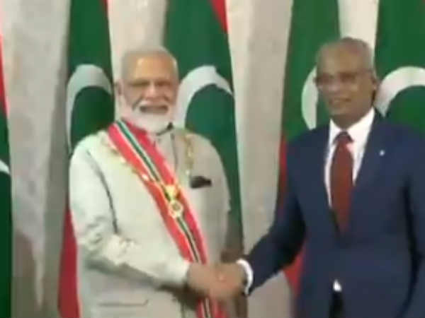 Maldives Government to confer countrys highest honour on PM Modi