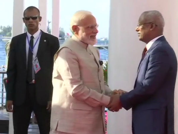Maldives: Prime Minister Narendra Modi & President of Maldives Ibrahim Mohamed Solih hold a meeting in Male