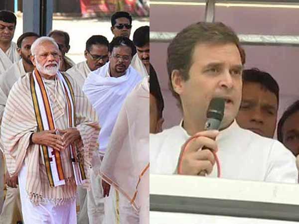 ஒரே நாளில் மோடி, ராகுல் காந்தி அடுத்தடுத்து விசிட்.. எல்லோர் கண்ணும் கேரளா மீதுதான்