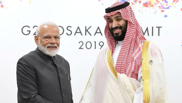PM Modi holds bilateral meeting with Saudi Crown Prince