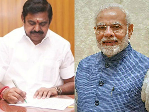 Thanks to the proposal for farmers, the pension Plan announced edappadi palanisamy Thanks letter to modi