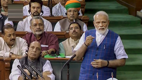 Water for every household is our mantra: PM Modi in Lok Sabha