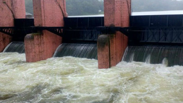Southwest monsoon in Kerala, Waterflow rises in Mullai Periyar Dam