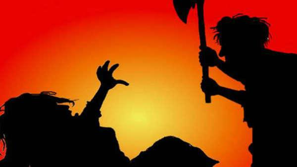 பொது இடத்தில் காதலியிடம் ஜாலியாக இருந்த ரவுடி.... தட்டிக்கேட்ட நபர் அடித்துக்கொலை