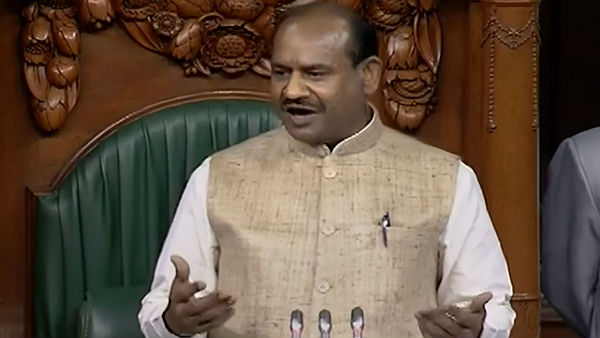 Speaker Om Birla comments on religious slogans in Parliament