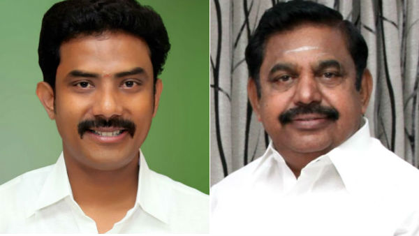 ops ravindranath kumar fails to recieve CM at the airport