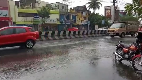 #chennairains Trending on Twitter: peoples Are Enjoy
