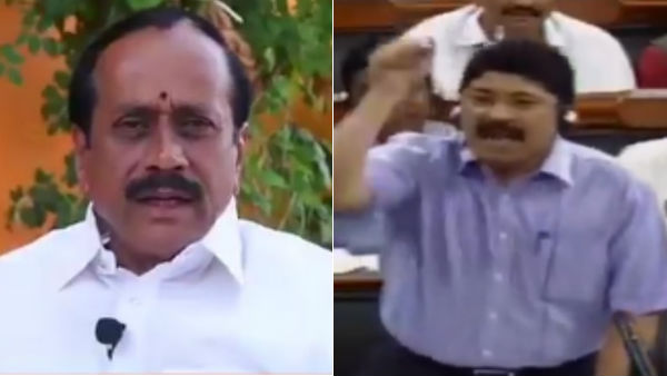 H Raja tweet about Dayanidhi Marans speech