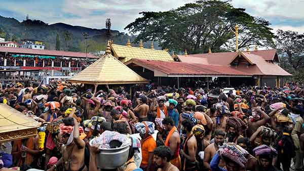 Steps open in Sabarimala Ayyappan temple today, Police Protection increases