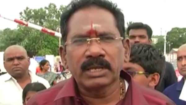 DMK is responsible for the water shortage in Chennai Says Minister Sellur Raju
