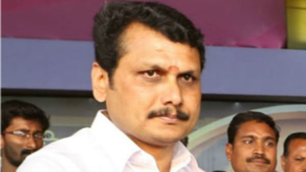 DMK MLA Senthil Balaji slams AIADMK about sand in trucks