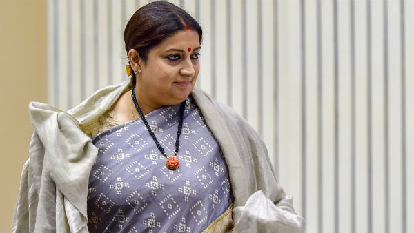 Union Minister Smriti Irani has decided to build a house in Amethi.