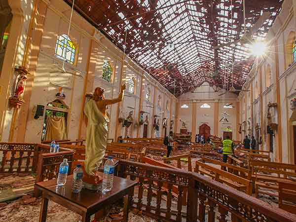 ISIS not directly linked to Srilanka Easter attacks?