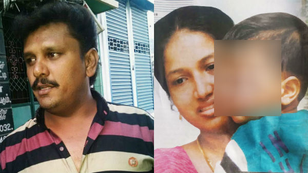 wife suicide attempt after Police attacked the young man die in madurai