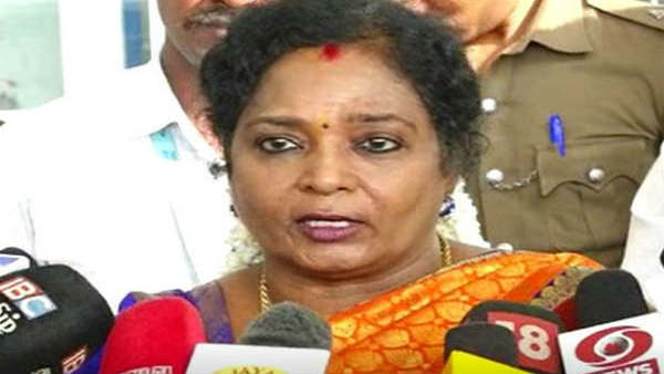 DMK leader Stalin has no moral right to speak on the issue of drinking water Says Tamilisai