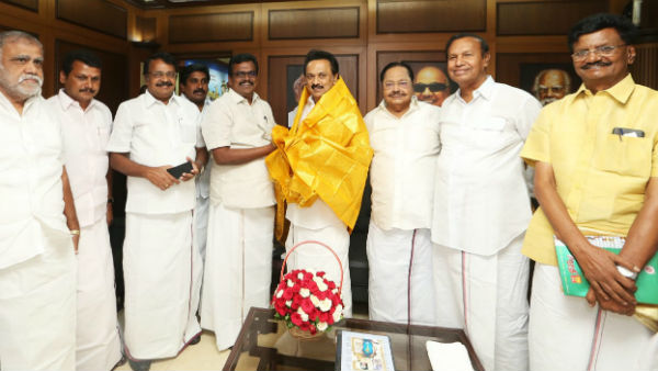 Thanga tamilselvan may join to dmk today In the presence of mk stalin