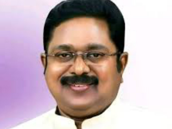 TTV Dinakaran requests to release white report On Restoration work