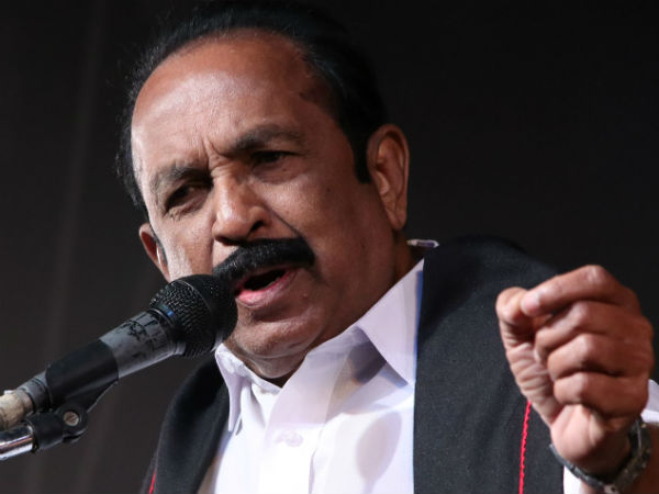 Vaiko says that no cauvery will come from Godaveri