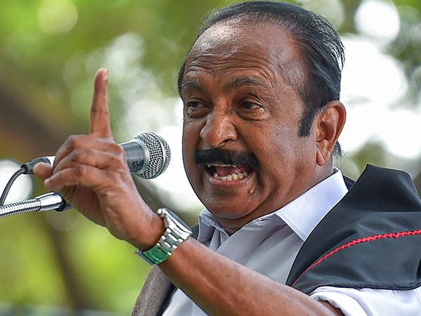 Vaiko says no for One Nation One Ration Card