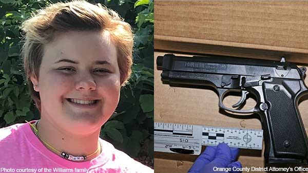 A girl was shot dead in California, She show a dummy rifle Front of Police officer