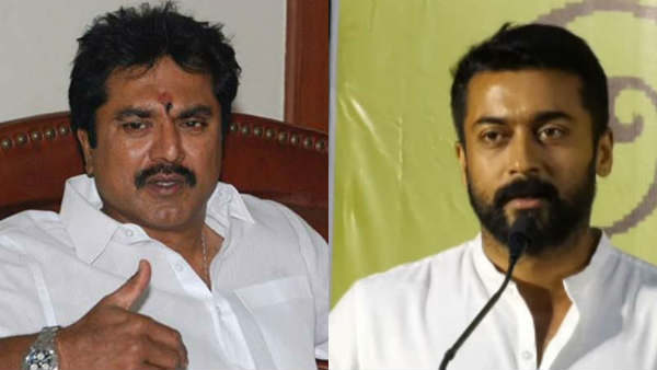 actor sarath kumar not accept actor suriya commends of new education policy
