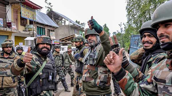 10,000 paramilitary forces sent to Jammu and Kashmir