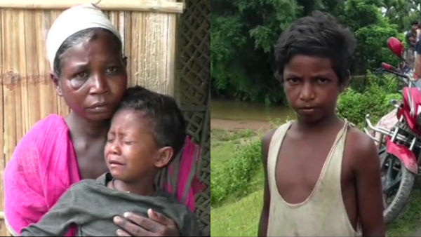 Uttam Tati from Missamari saved a woman and her child from drowning in the river
