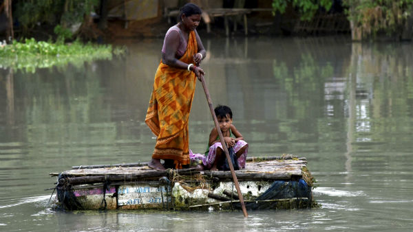 6 people have lost their lives in Assam Floods, 21 dist affected