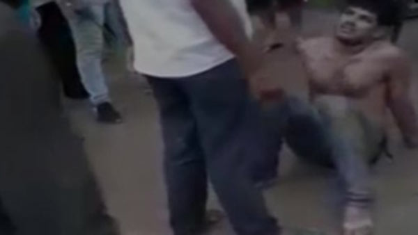 Rajasthan: A man was beaten up by locals in Pilani area allegedly after he was caught snatching a womans chain