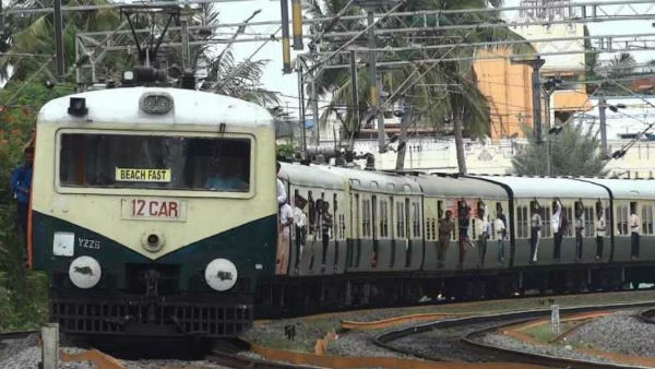 Chennai Beach - Velachery towars, train service canceled on July 21