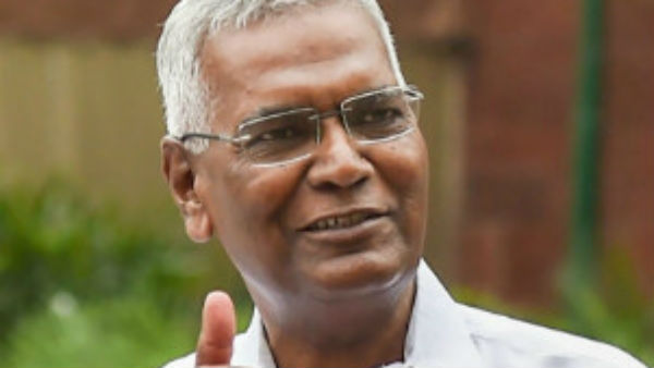 D Raja elected as the GS of CPI