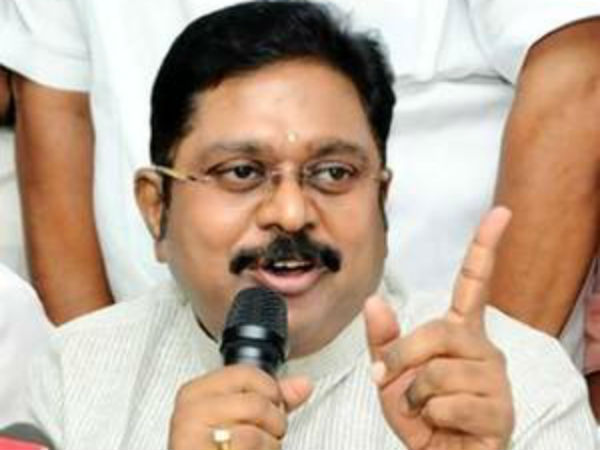 AMMK is going to support whom in Vellore Loksabha election?
