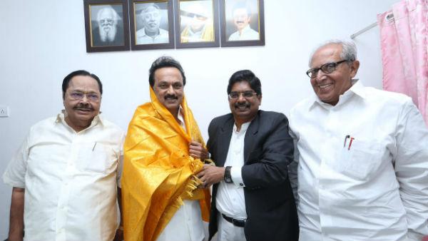 ராஜ்யசபா தேர்தல்: திமுக வேட்பாளர்களாக சண்முகம், வில்சன் போட்டி-  மதிமுகவுக்கு 1 இடம்! | DMK to announce Rajyasabha Candidates on today -  Tamil Oneindia