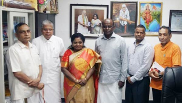 Elam Tamils delegation met TN BJP leaders