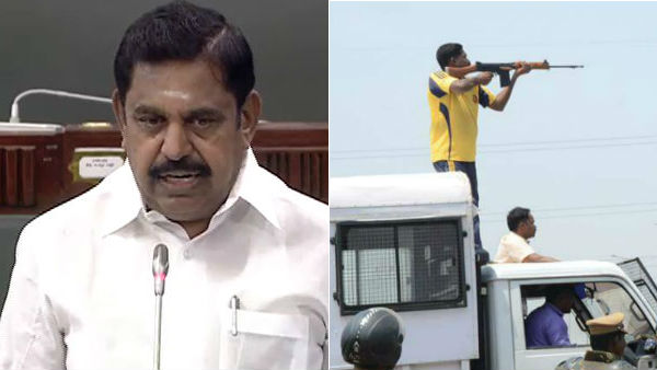CM Edappadi Palaniswami defends police on Tuticorin firing