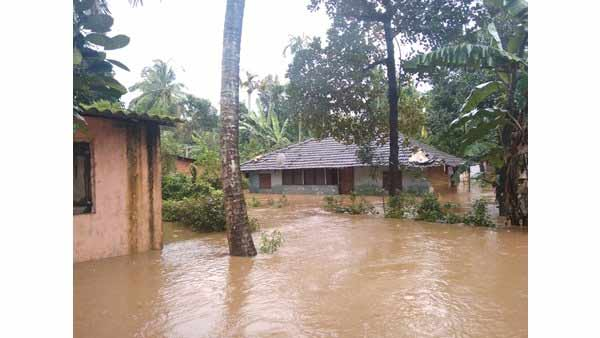 Kerala Rain: Red alert issued for the Kasargod district