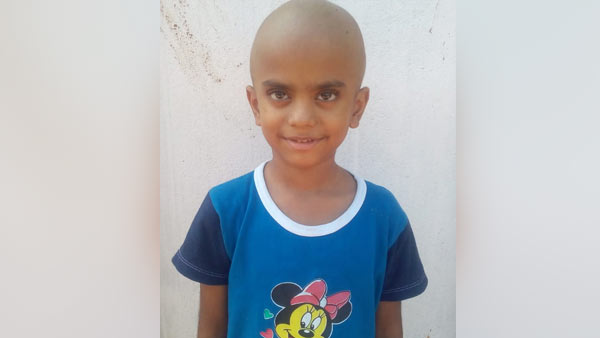 Help my 5 year old child for his treatment who is suffering from Cancer