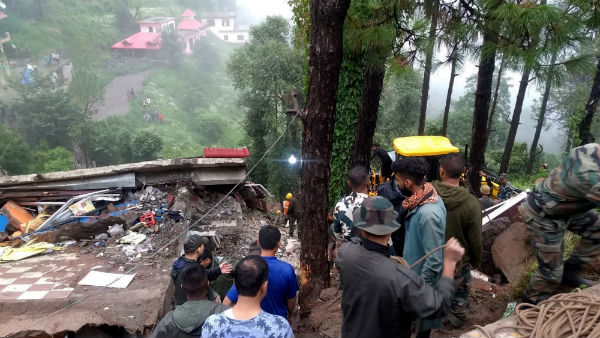 Building collapse in Himachal Pradesh, 7 dead including 6 soldiers