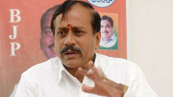 H.Raja condemns TN government for saying to not come to Athivaradhar darshan