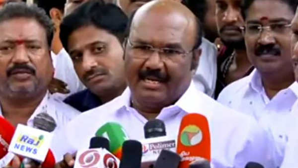 Minister Jayakumar says that ADMK is Gentlman party