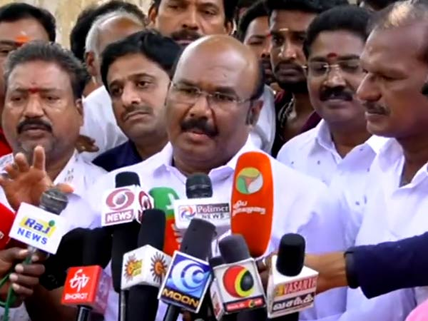 Young peoples should come forward to self employment Says Minister Jayakumar