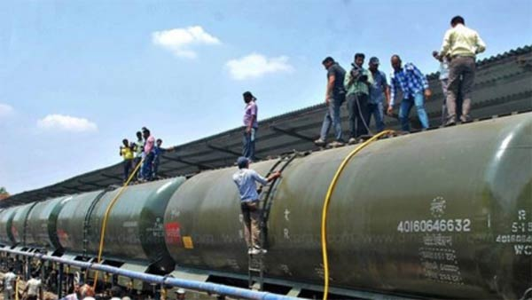 Drinking water to Chennai by trains from Jolarpet, test drive today