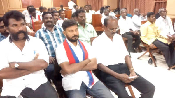 vck allegation, some persons planed pmk to include dmk alliance at last lok sabha election