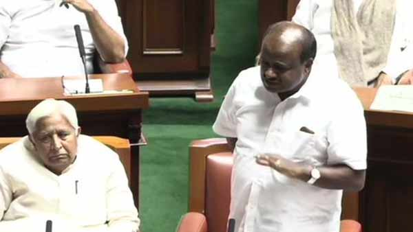 BS Yeddyurappas trust vote is illegal: HD Kumaraswamy