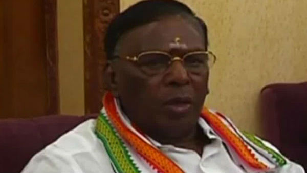 We will not let the hydrocarbon project into the Puducherry soil Narayanasamy Precisely