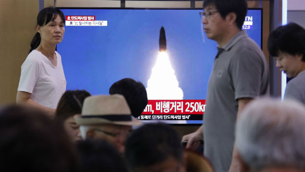 North Korea Missile Test Twice in a Week, South Korea Report