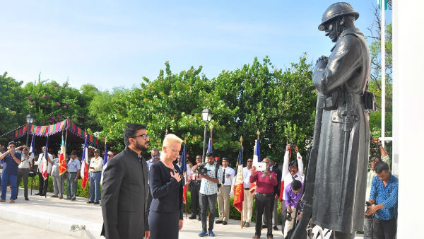 Frances national day celebrated in Puducherry